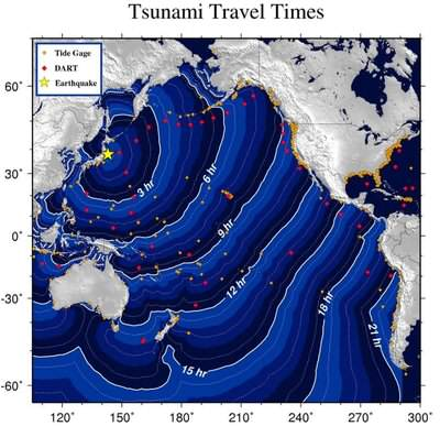 676056 Japon Tsunami Propagation
