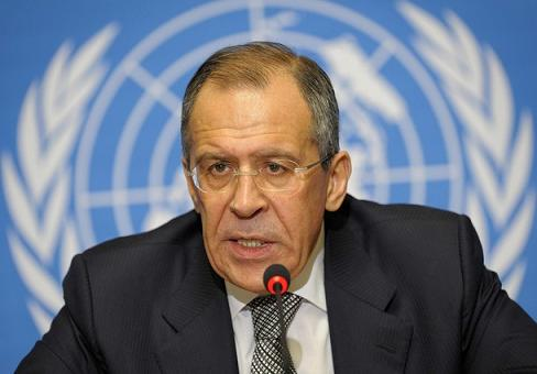 Russian Foreign Minister Sergey Lavrov1