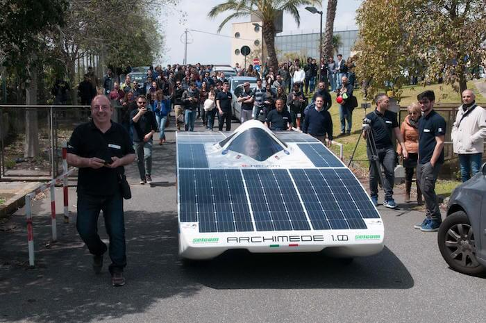 Voiture Energie Solaire Low Cost Archimede Solar Car 02