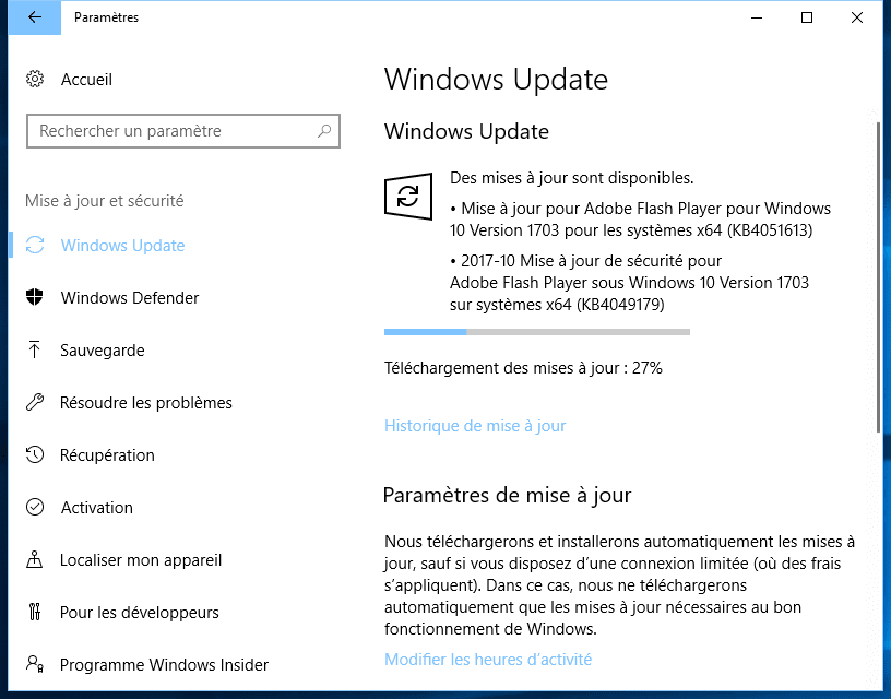 Mise A Jour Windows 10 Part5