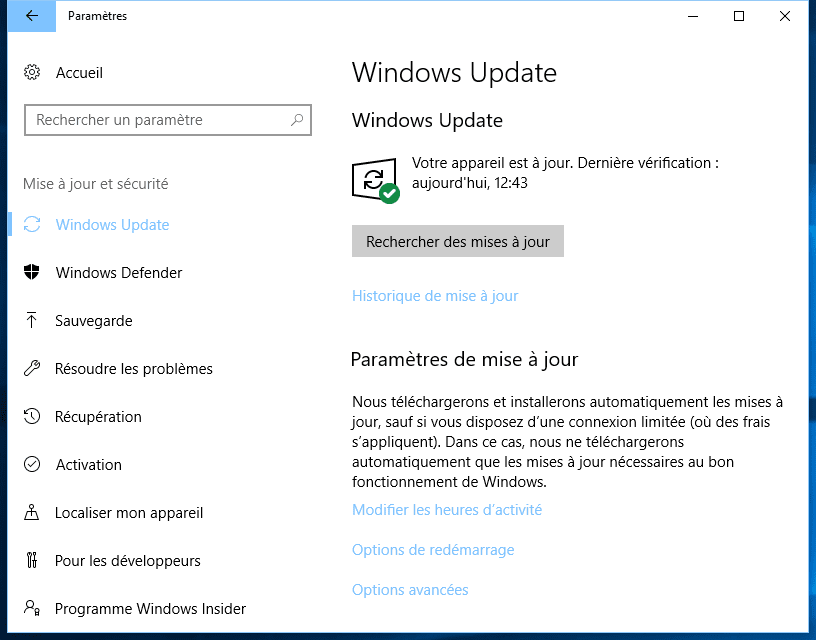 Mise A Jour Windows 10 Part6